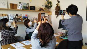 【本日開催イベント報告】スマホ写真レッスン