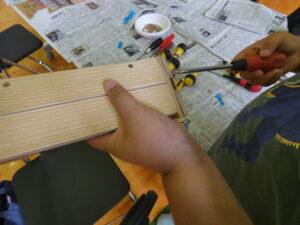 サマースクール木工教室